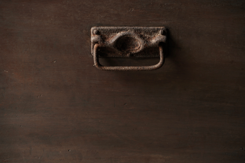 Oude Authentieke houten kist-6