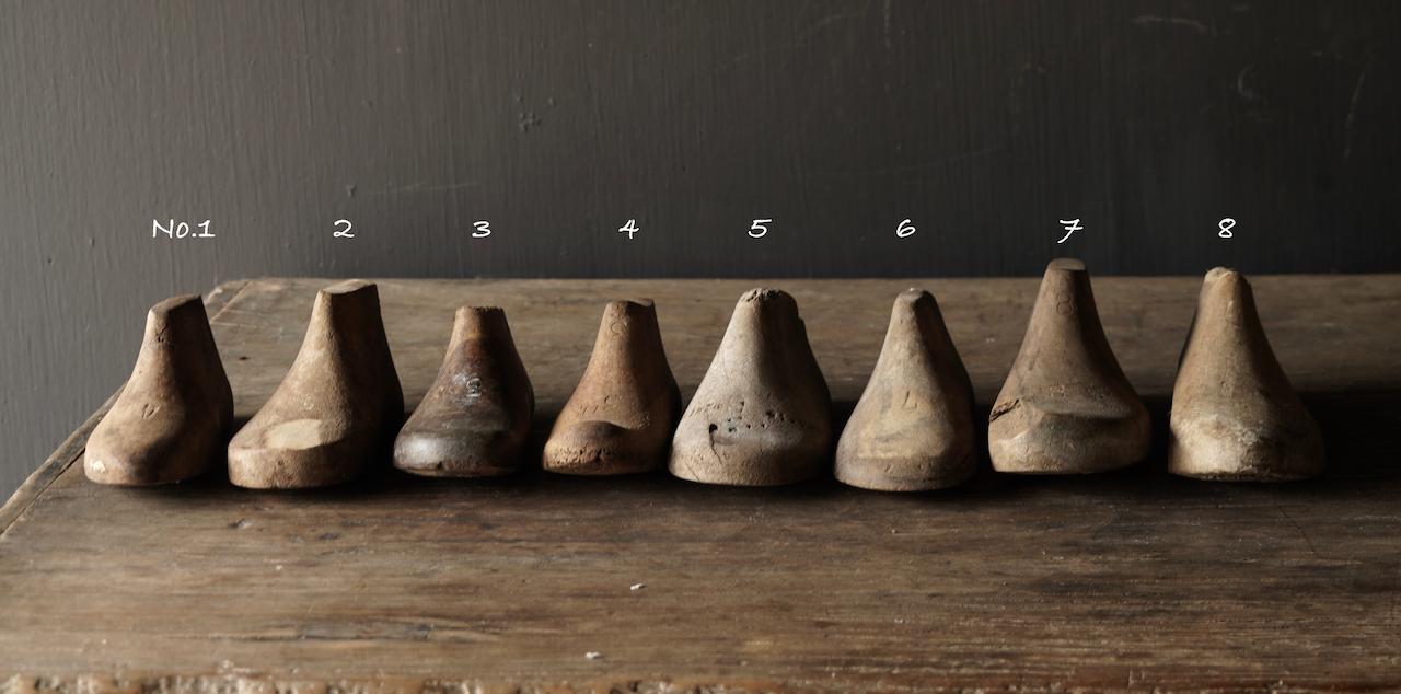 Oude houten Kinder schoen leesten-3