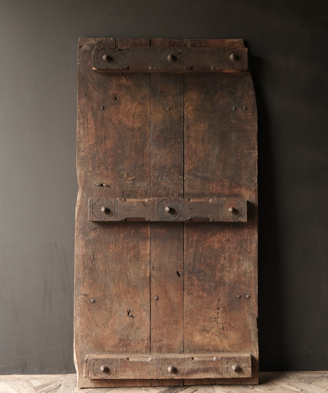 Beautiful Unique Old Antique Nepalese wooden Door-2