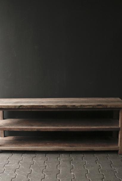 TV furniture / Sideboard of old sturdy wood