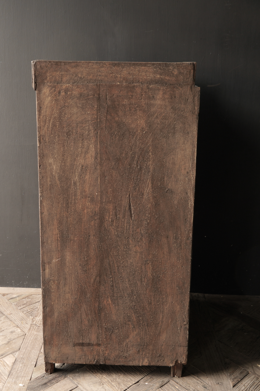 Prachtig Stoer Landelijk  oud Authentiek  kastje-3