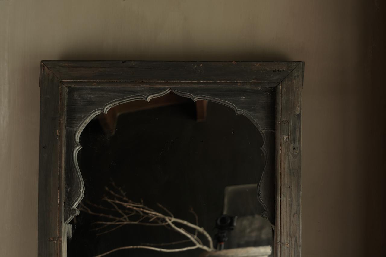 Spiegel gemaakt van oud Authentiek Luik-2