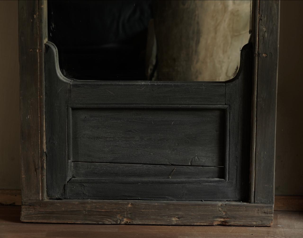 Spiegel gemaakt van oud Authentiek Luik-3
