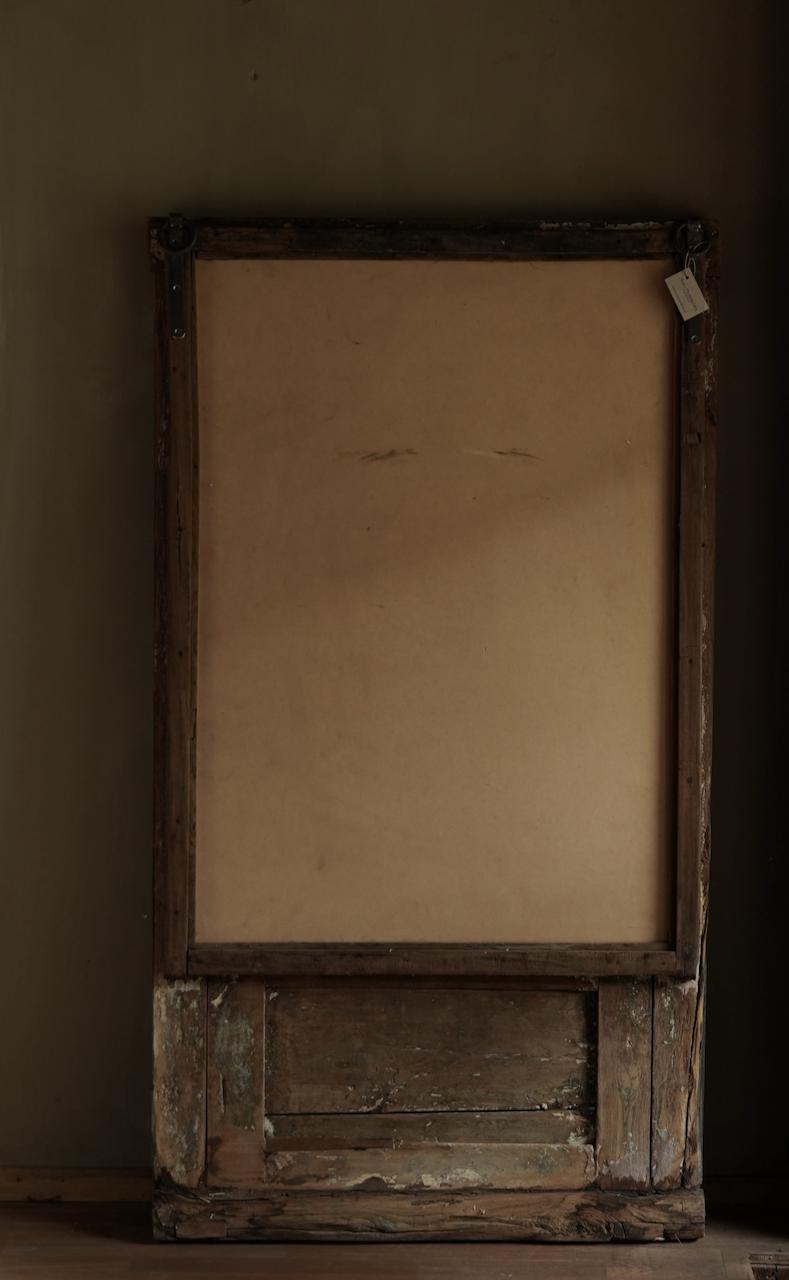 Spiegel gemaakt van oud Authentiek Luik-4