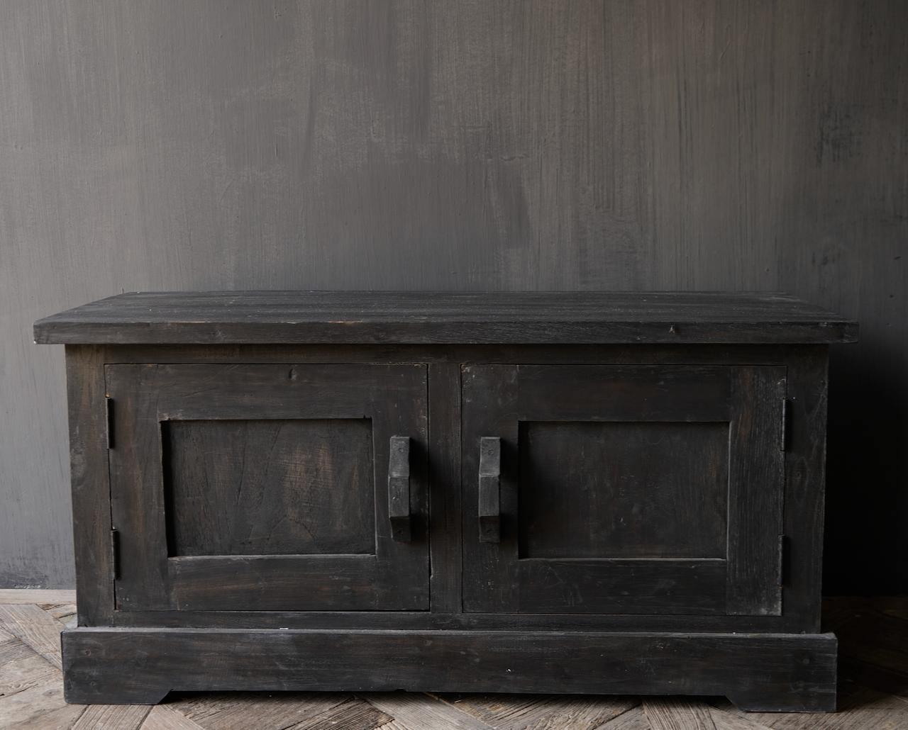 Stoer Tv Meubel / dressoir van oud  hout-2