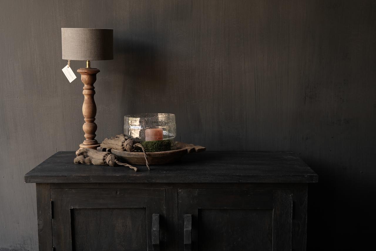 Stoer Tv Meubel / dressoir van oud  hout-4