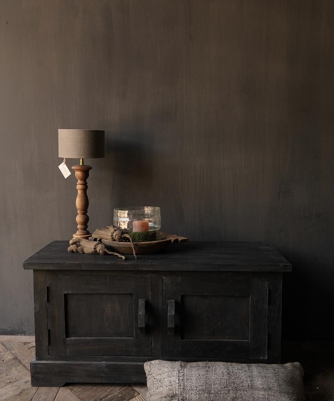 Stoer Tv Meubel / dressoir van oud  hout-6