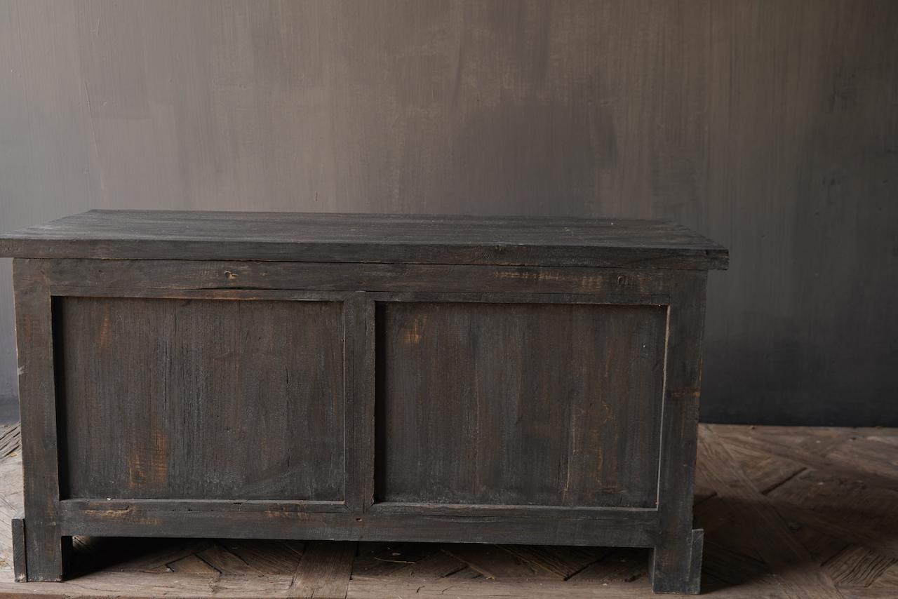 Stoer Tv Meubel / dressoir van oud  hout-7