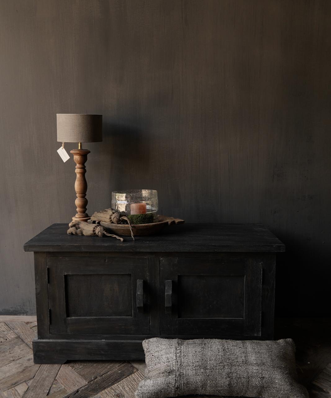 Stoer Tv Meubel / dressoir van oud  hout-1
