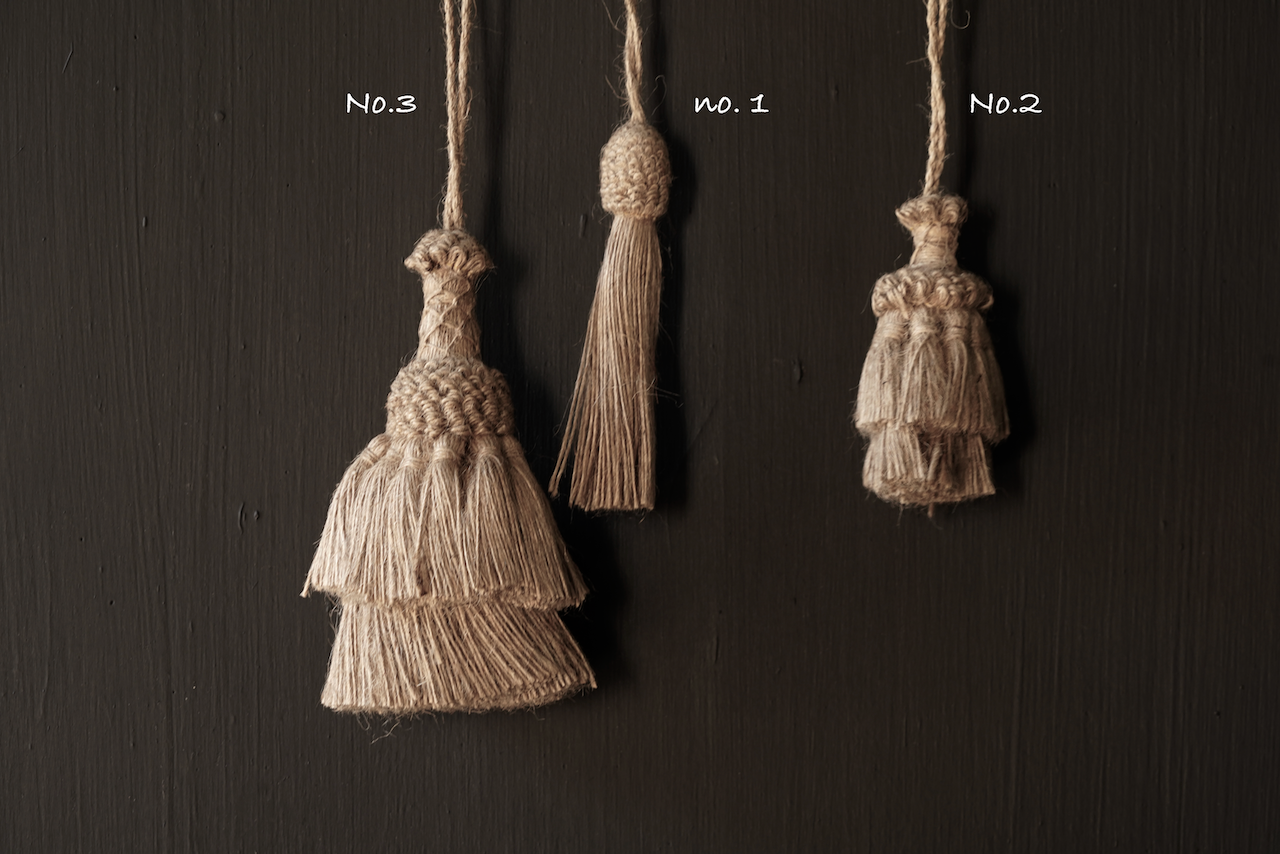 Beautiful Jute Tassel, Brush or Toefje-2
