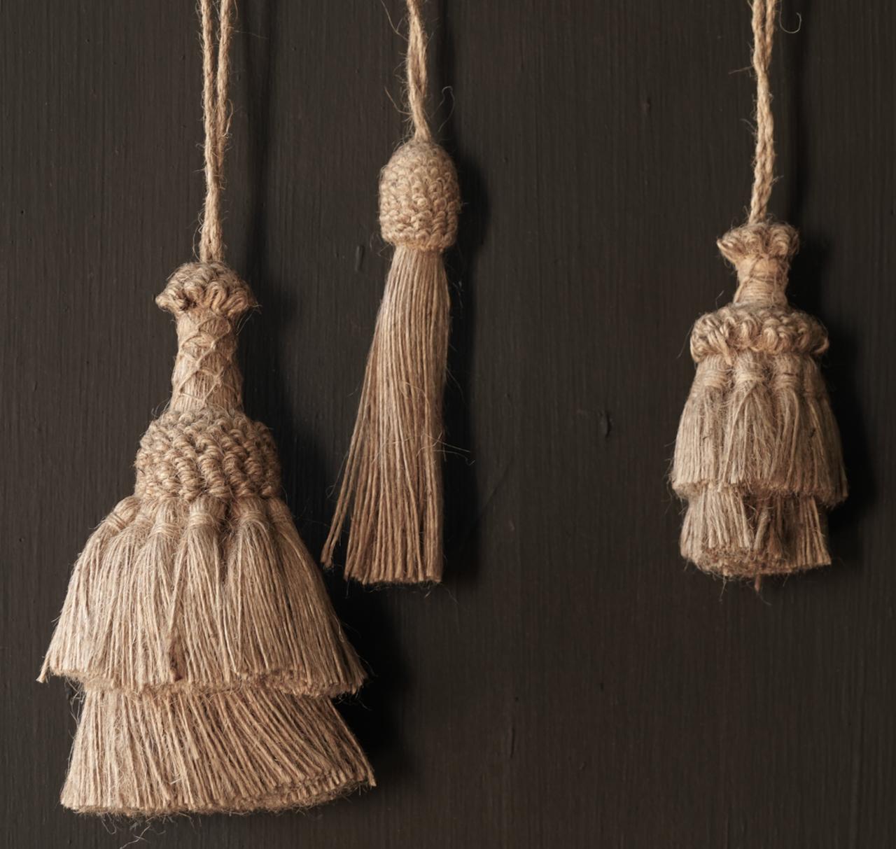 Beautiful Jute Tassel, Brush or Toefje-3