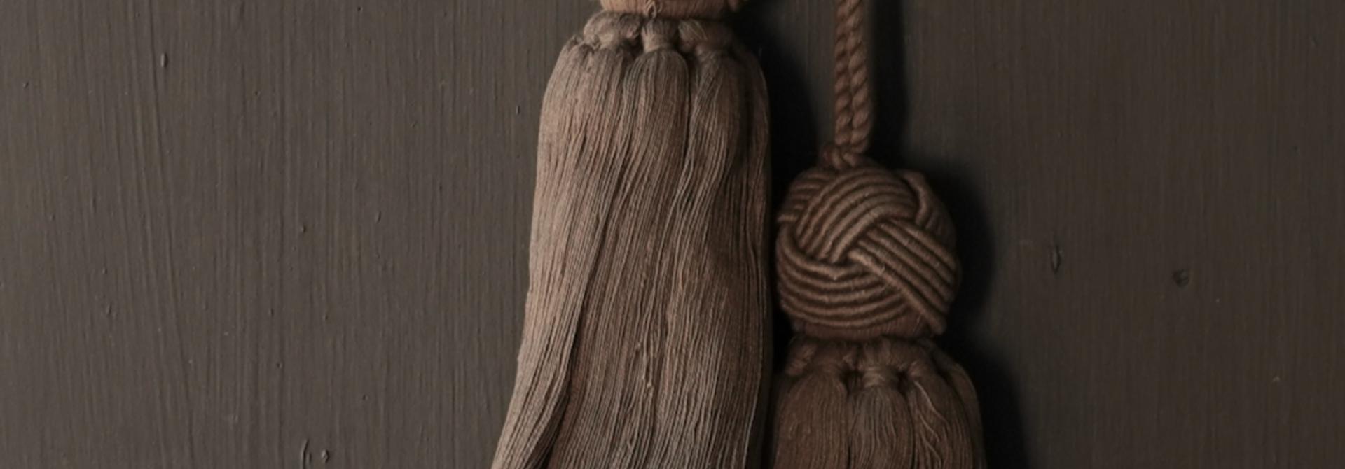 Cotton tassel, brush or tuft