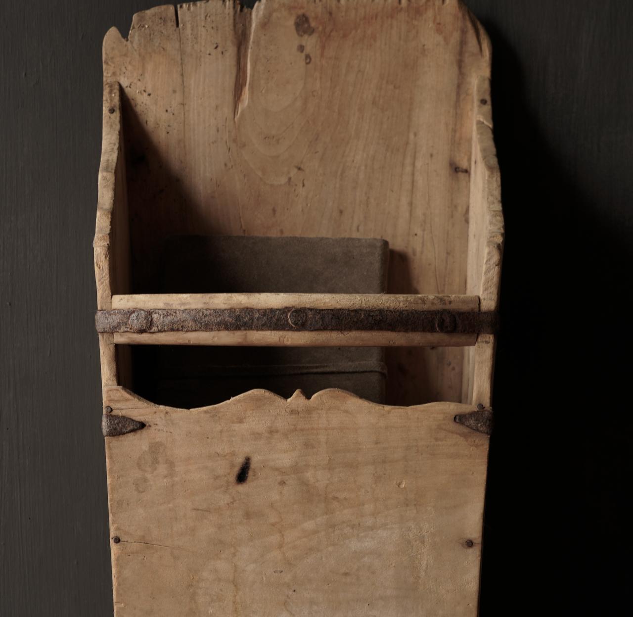 Large old wooden rice shovel / Bake-3