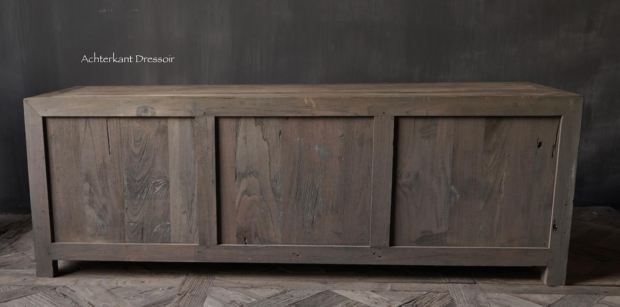 Tv Meubel / dressoir van oud  hout-4
