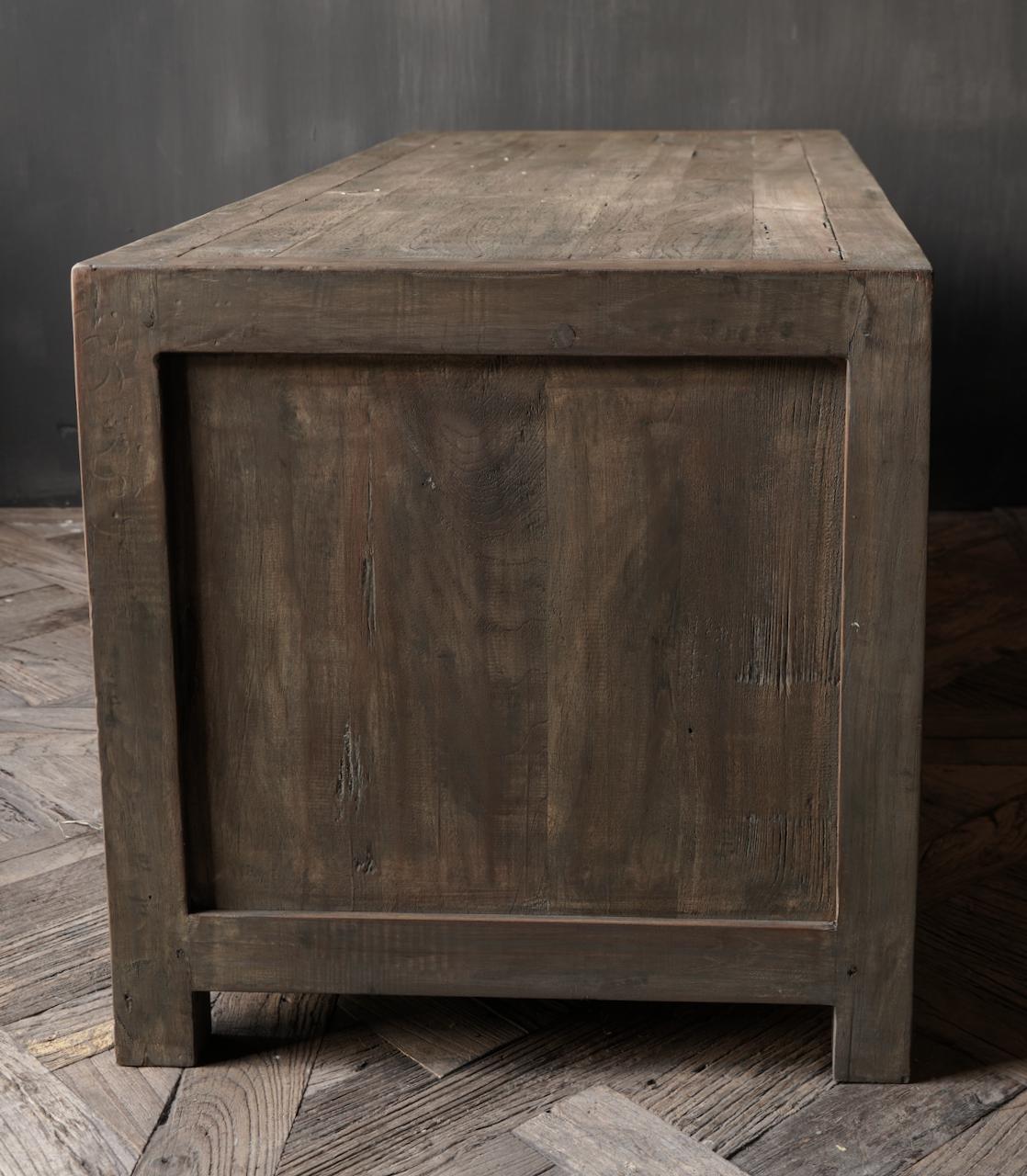 TV Möbel / Sideboard aus altem Holz-3
