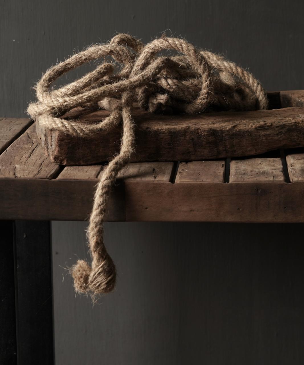 Bundel Jute touw  5 meter-2