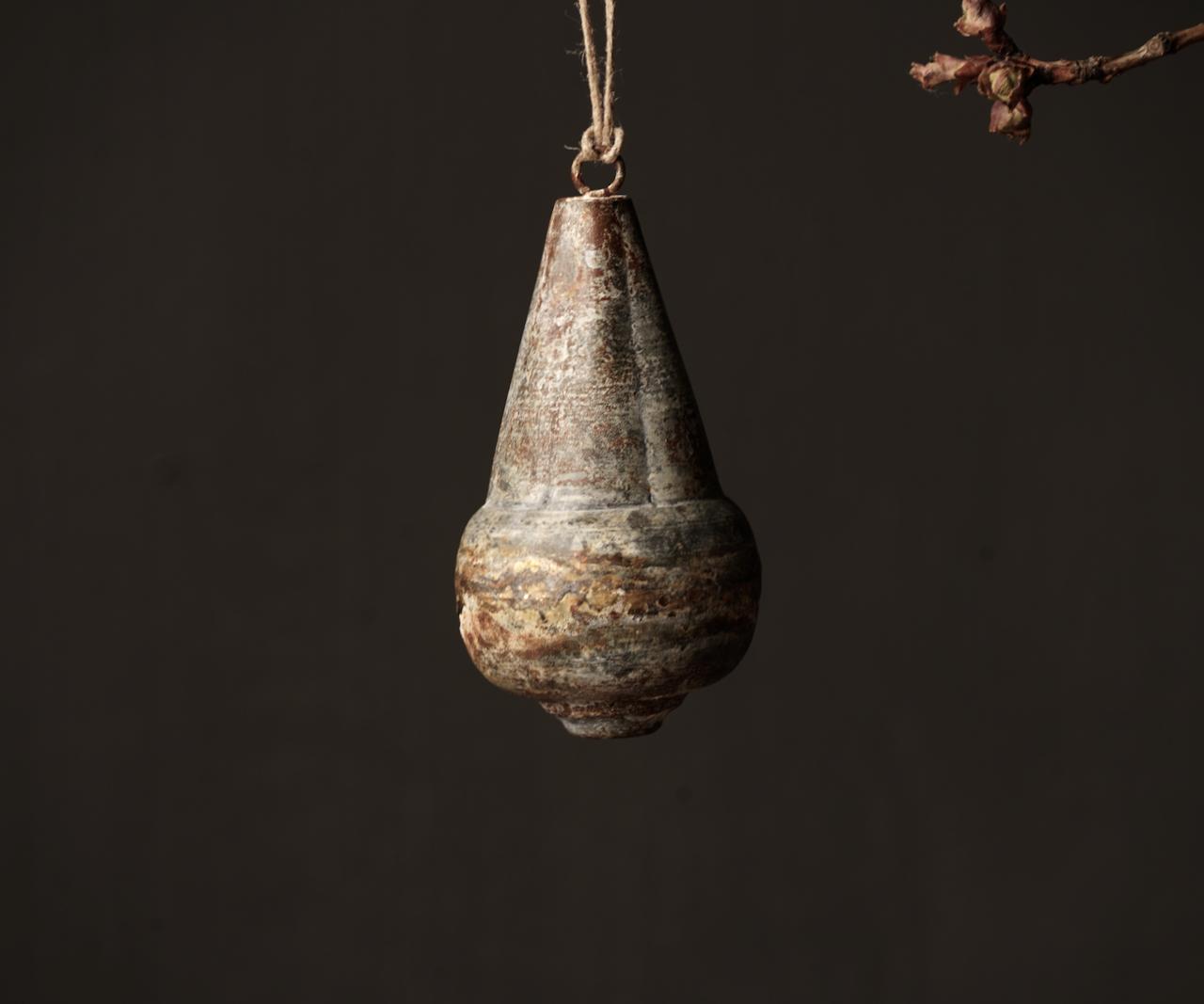 IJzeren Ornament  hanger Klos Tol-4
