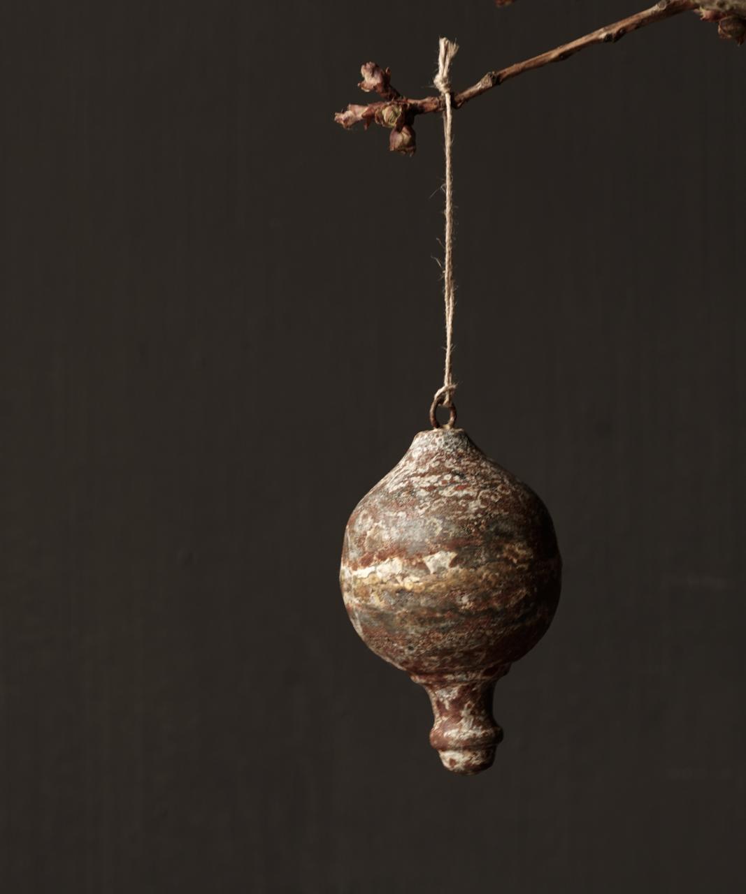 IJzeren Ornament  hanger Klos Tol-10
