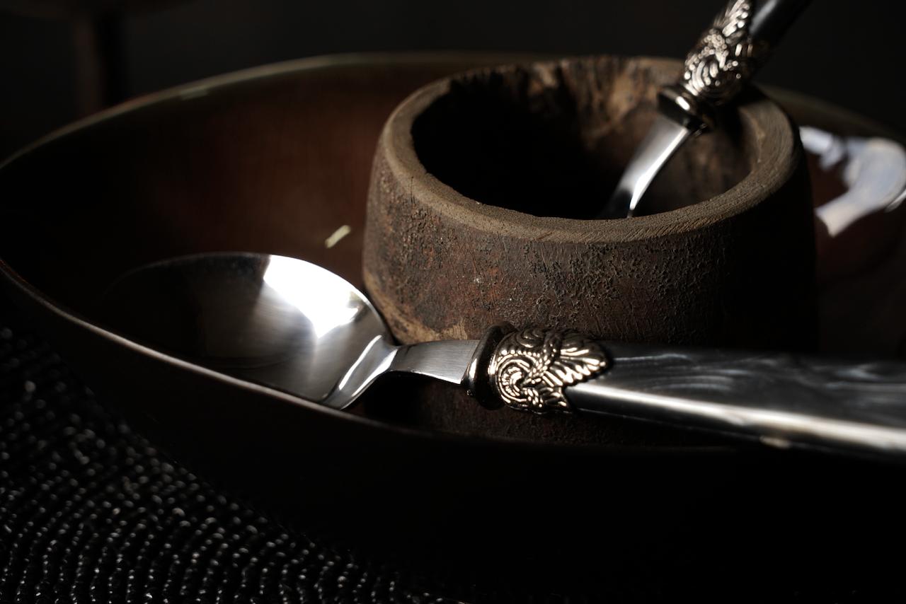 Cutlery 4-piece set vintage design-2