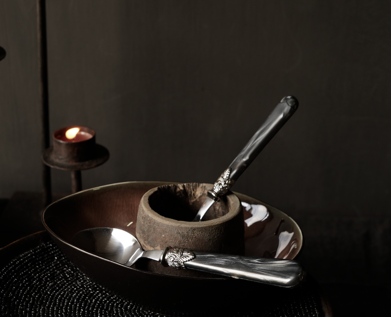 Cutlery 4-piece set vintage design-4