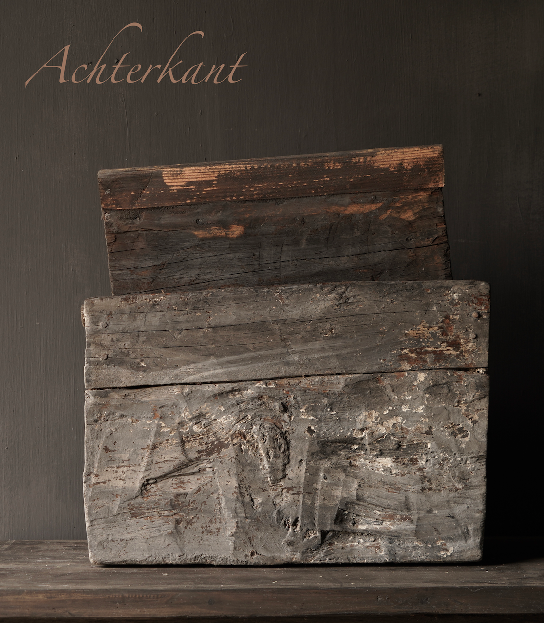 Robuste alte Himalaya-Box / Box-4