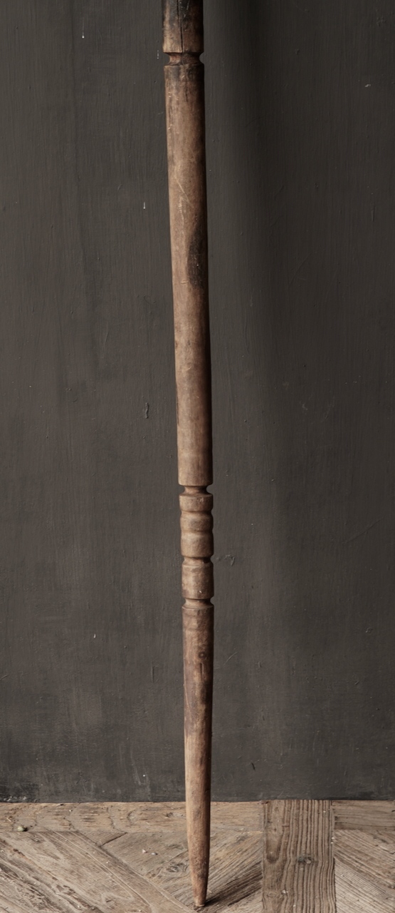 Old wooden Nepalese Pestle-4