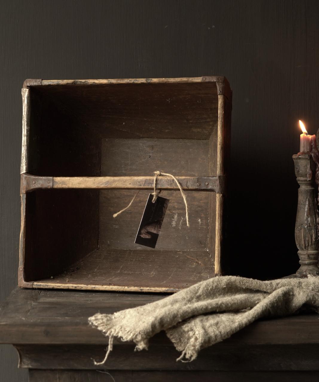 Oude houten zaai/Rijst bak-6