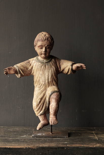 Antique wooden Angel