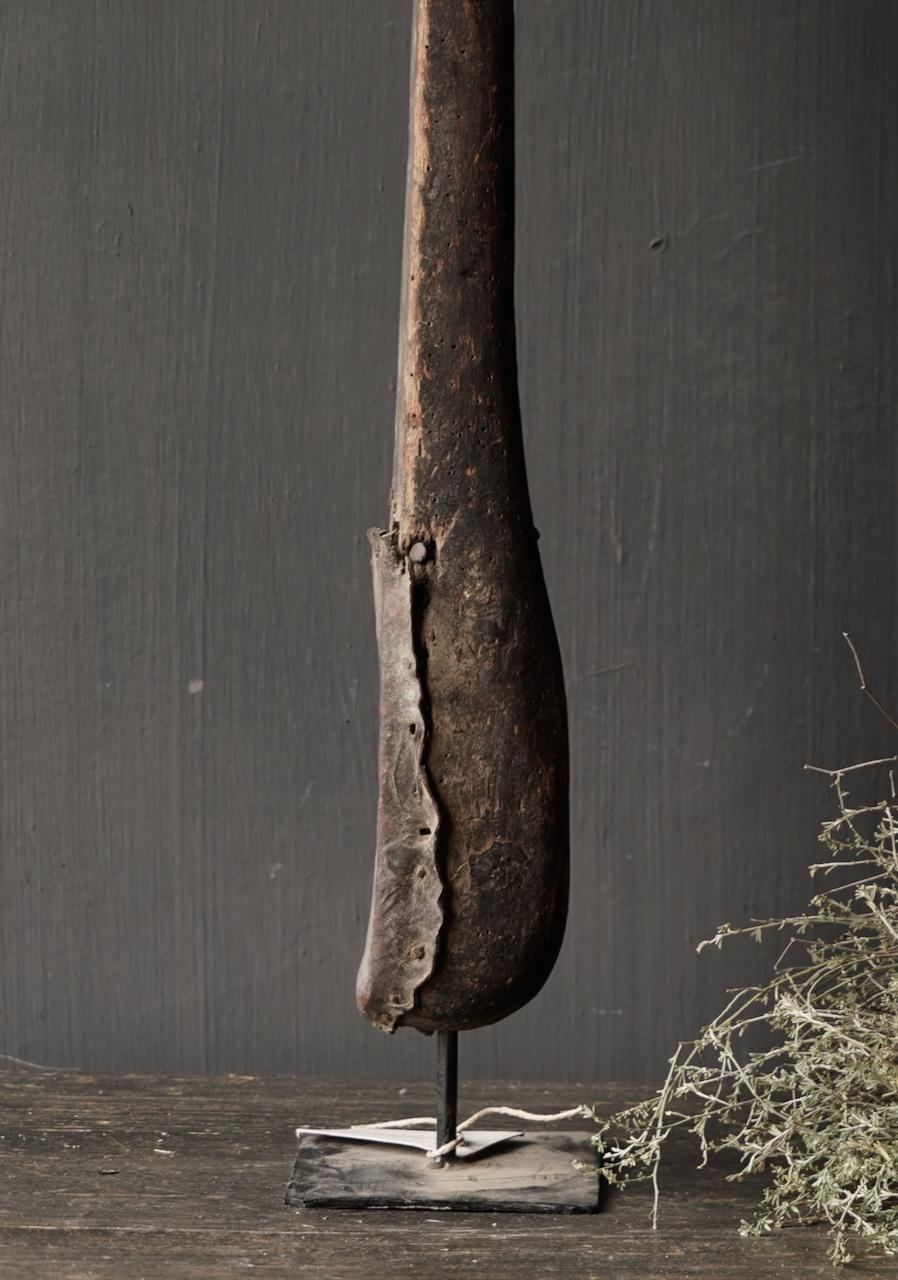 Uniek oud houten Indisch Sarangi-5