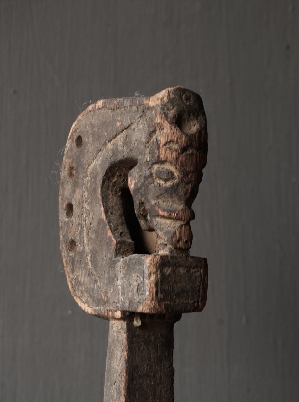 Uniek oud houten Indisch Sarangi-6