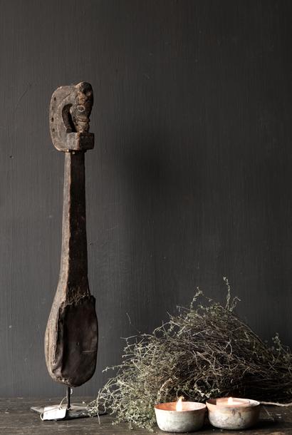 Uniek oud houten Indisch Sarangi