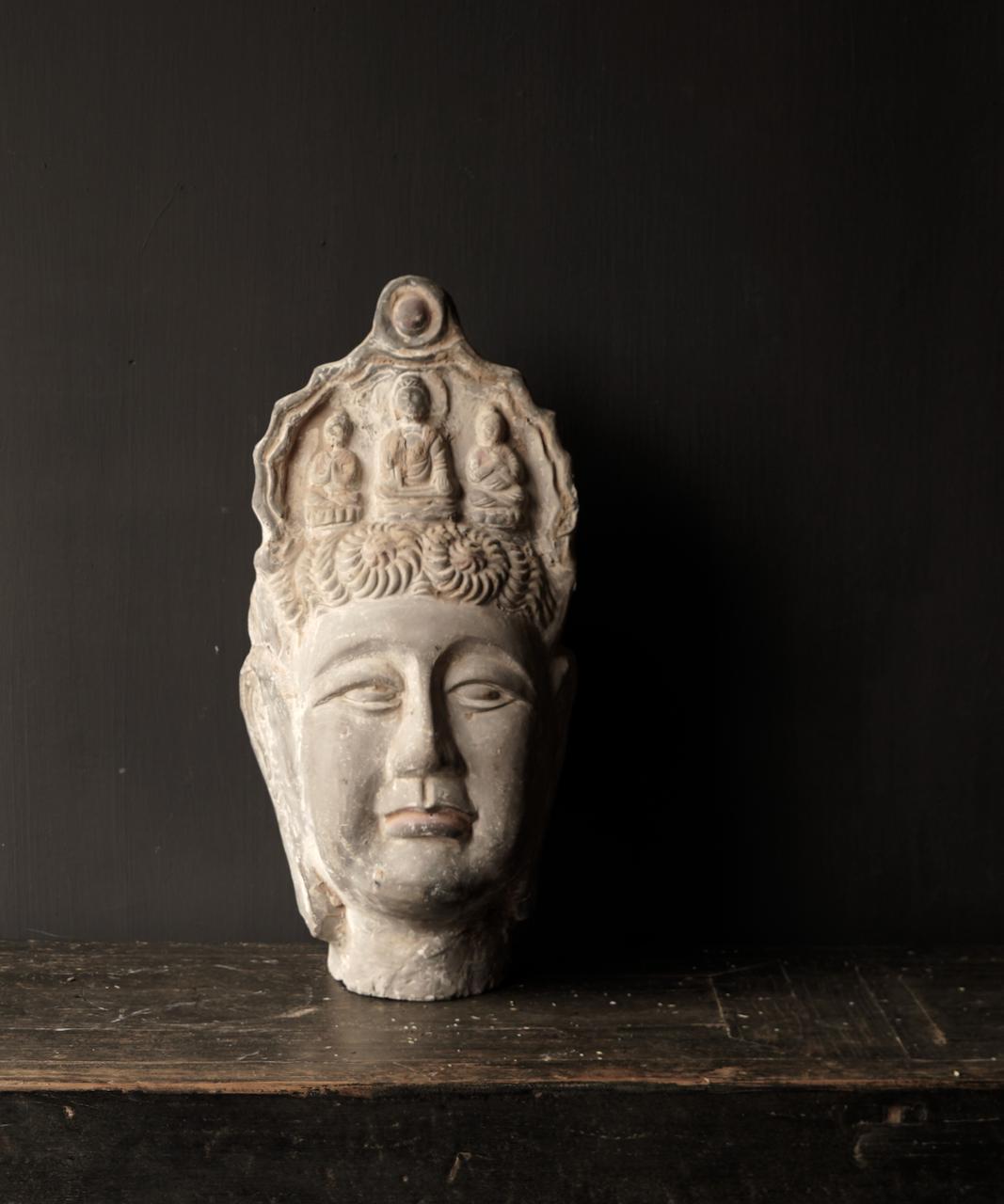 Uniek oude  keramiek  Buddha-5