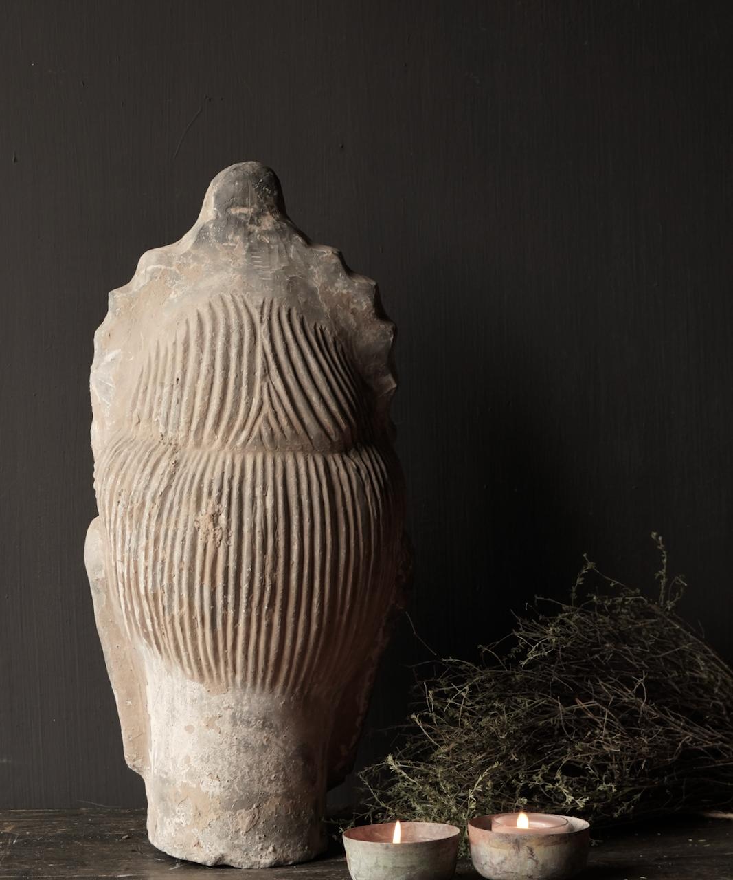 Uniek oude  keramiek  Buddha-4