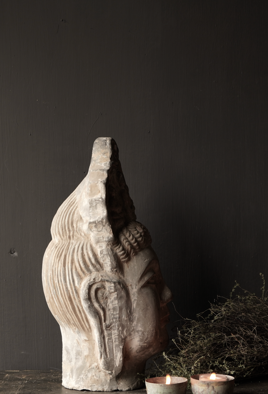 Uniek oude  keramiek  Buddha-6
