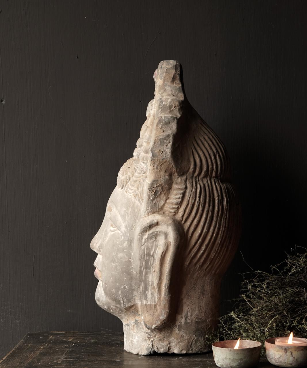 Uniek oude  keramiek  Buddha-3