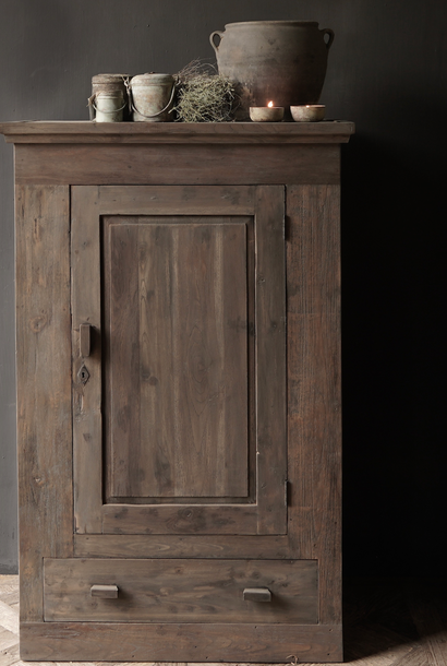 Tough Rural old wooden cupboard