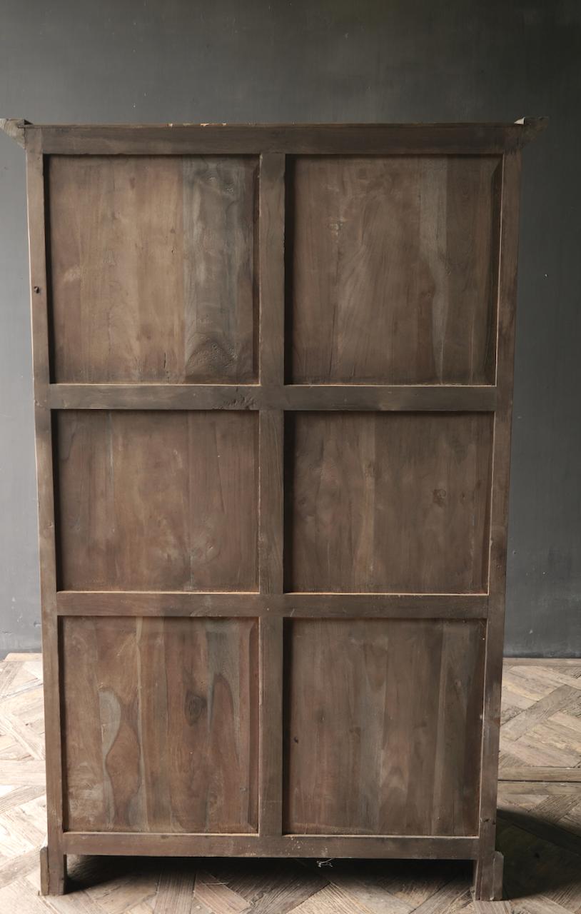 Prachtig   oud houten kast-5