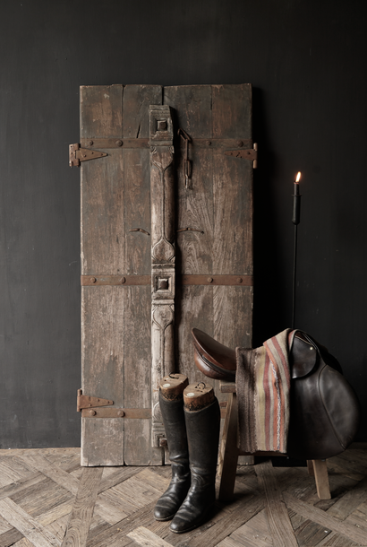 Beautiful Unique Old Antique Nepalese wooden Door