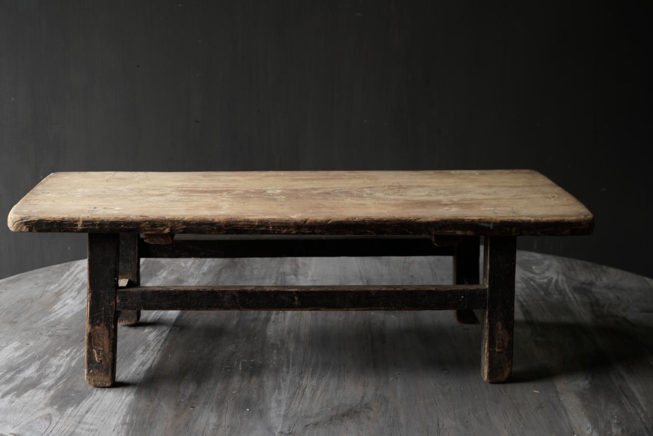 Oud houten thee tafeltje-3
