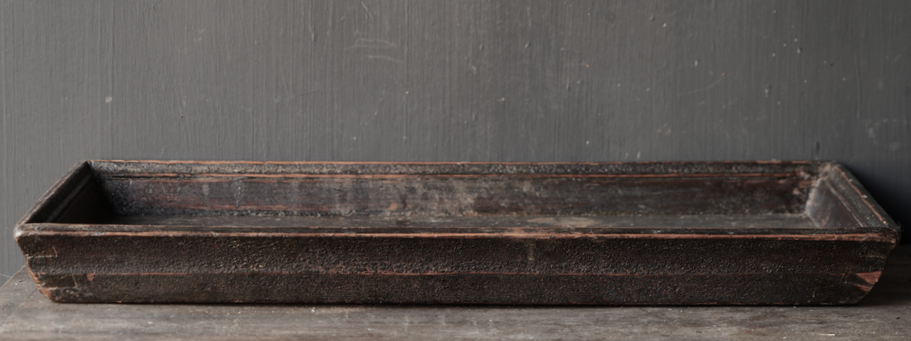 Authentic Old wooden tray-3