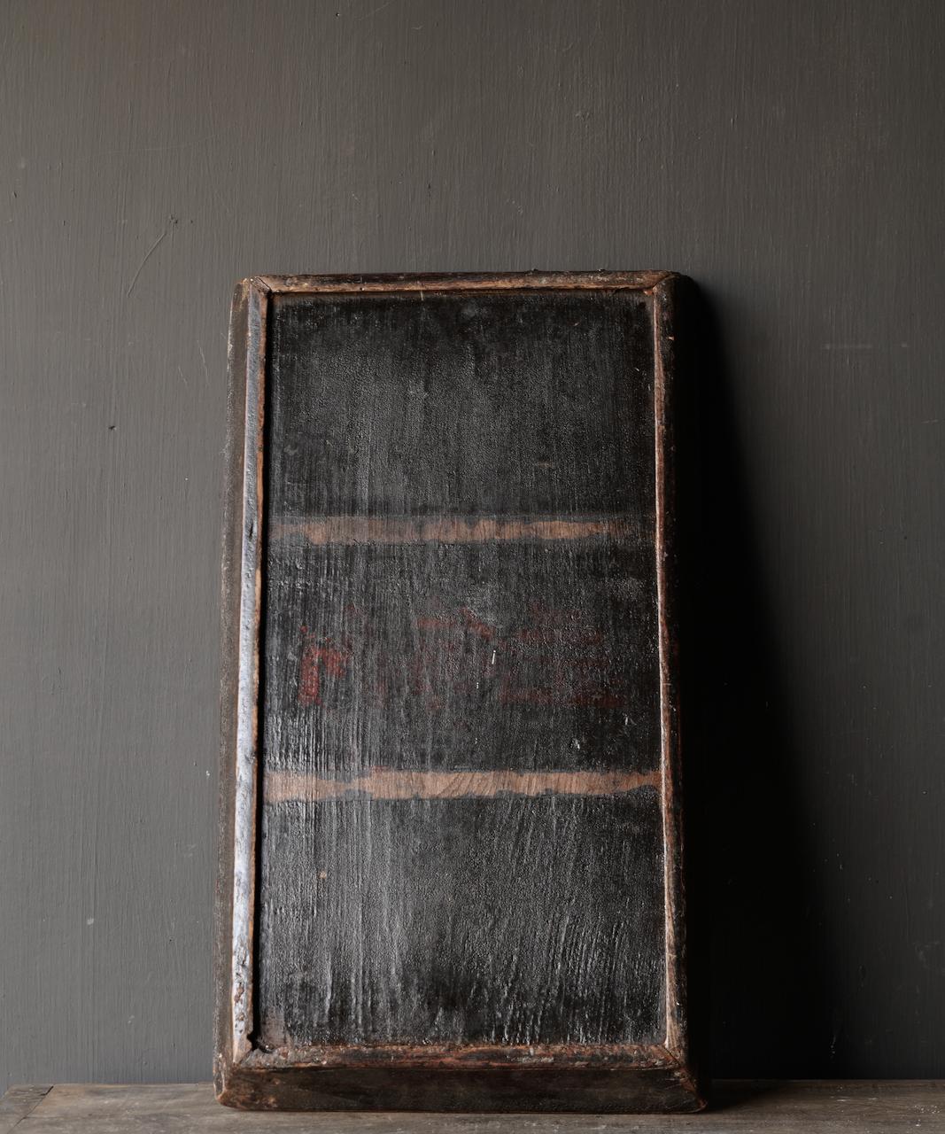 Authentisches altes Holztablett-5