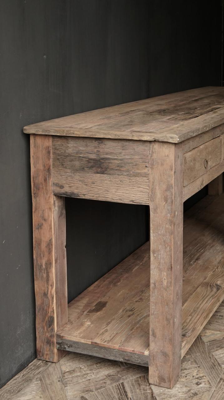 Beistelltisch oder Wandtisch mit vier Schubladen-5