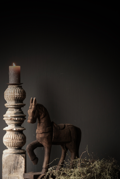 Houten paardje handgemaakt