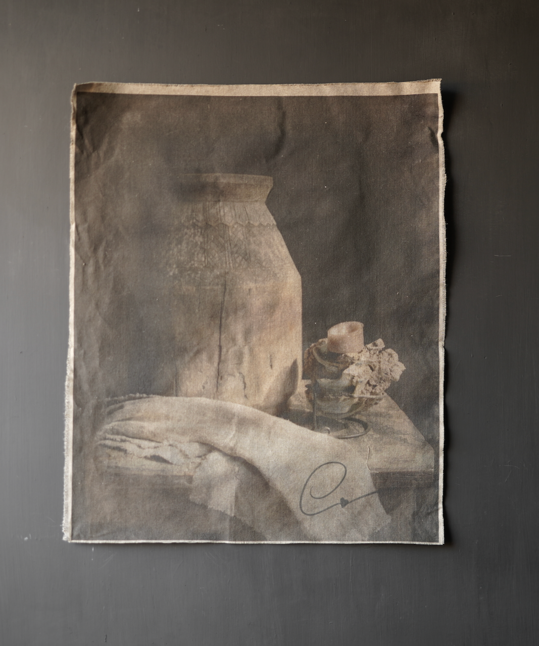 Tough sturdy linen tapestry-1