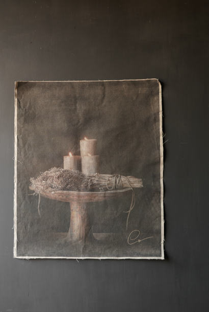 Tough sturdy linen tapestry