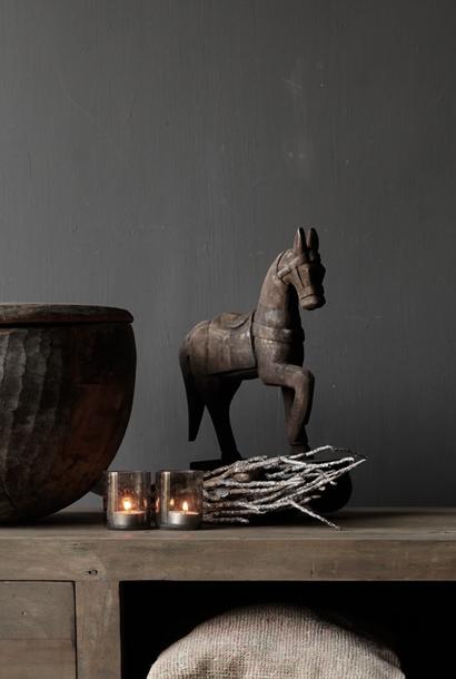 Wooden horse handmade