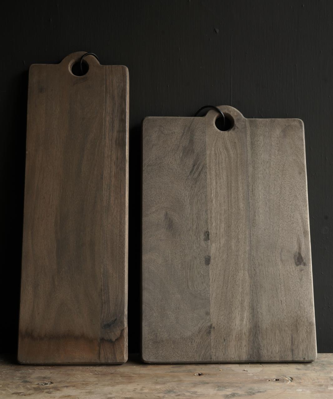Steckbrett / Schneidebrett aus Holz mit Schlitzen-4
