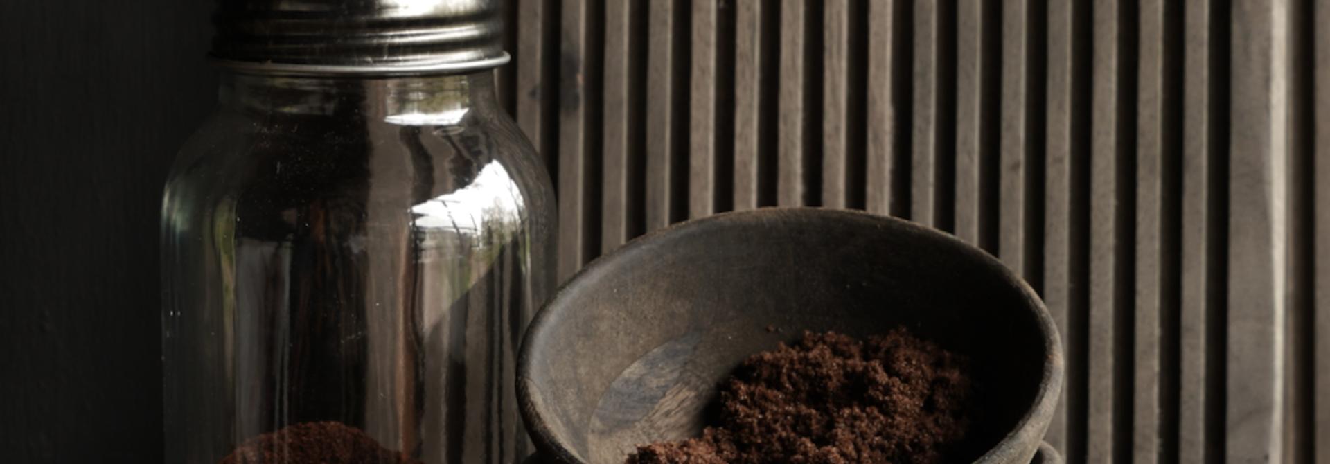 Koffie molen /voorraadpot