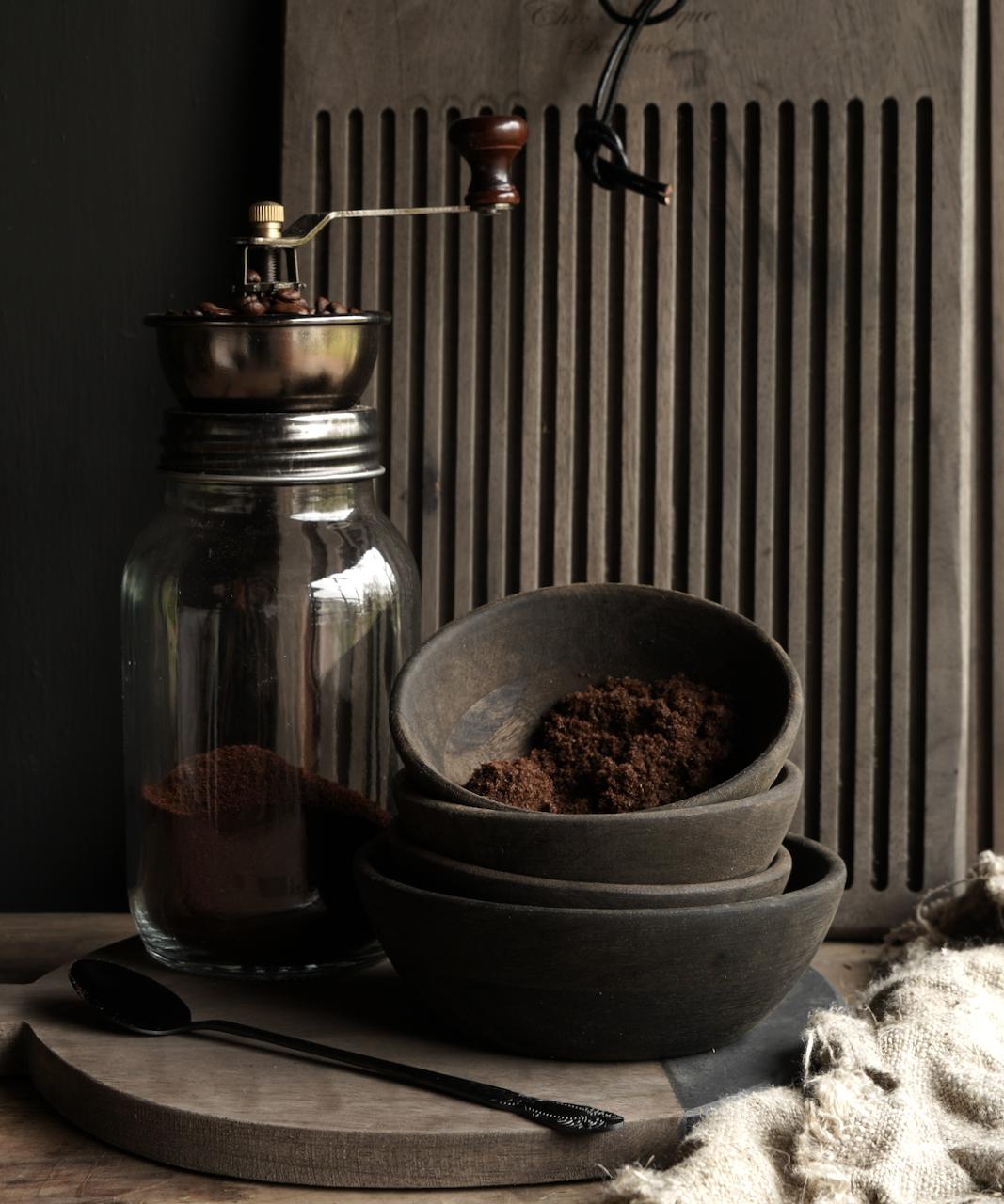 Koffie molen /voorraadpot-1