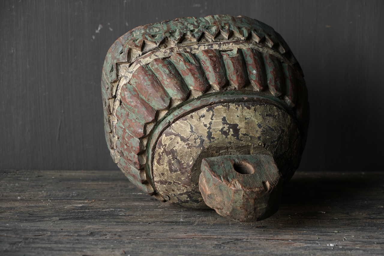 Uniek Oud Indisch Ornament-2